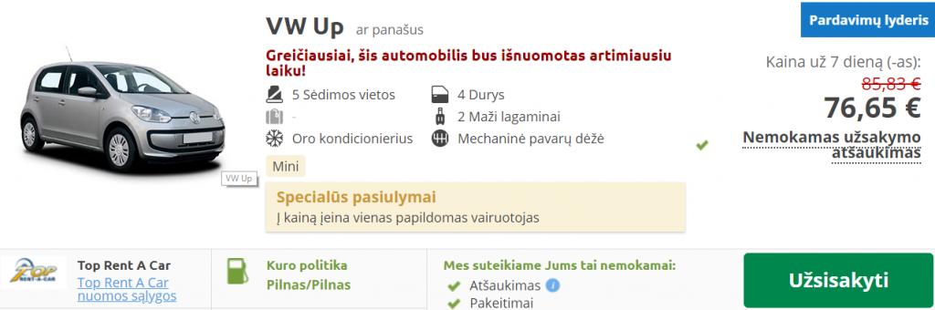 bulgarija auto nuoma