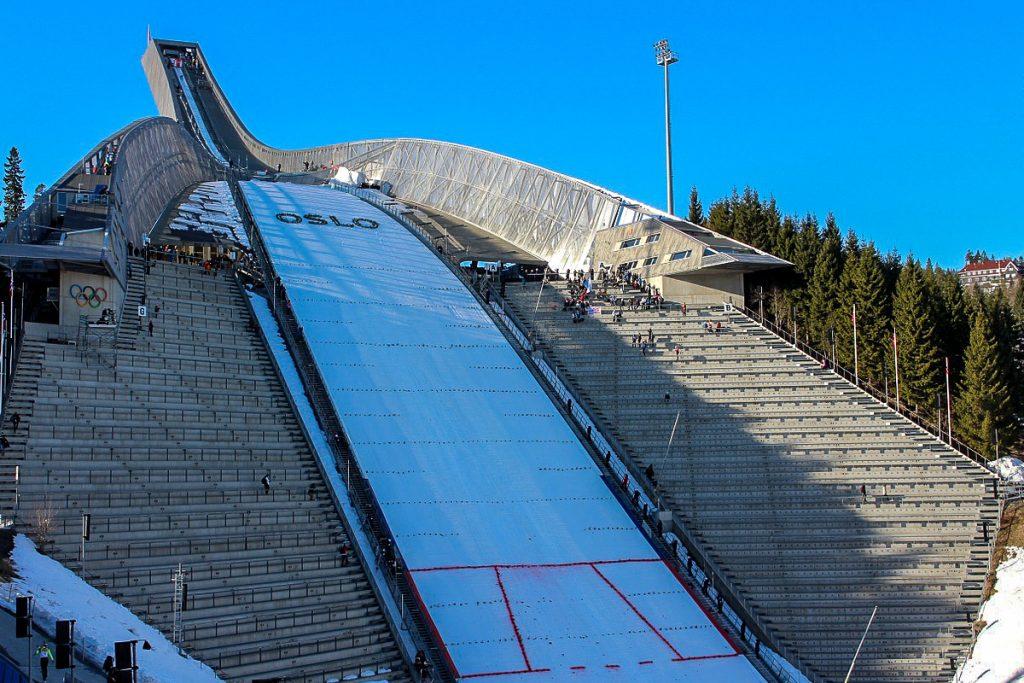 Homenkollen slidinėjimo muziejus ir bokstas