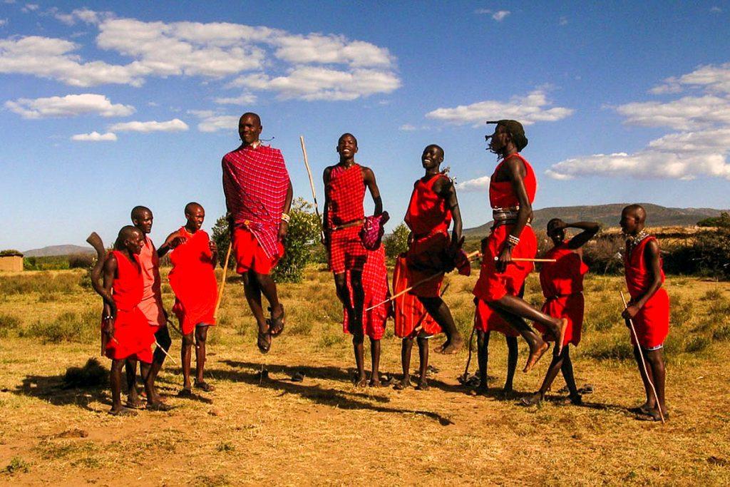 Masai Mara masajai