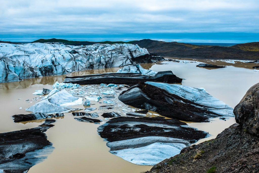 Vatnajokulio parkas ir ledynas