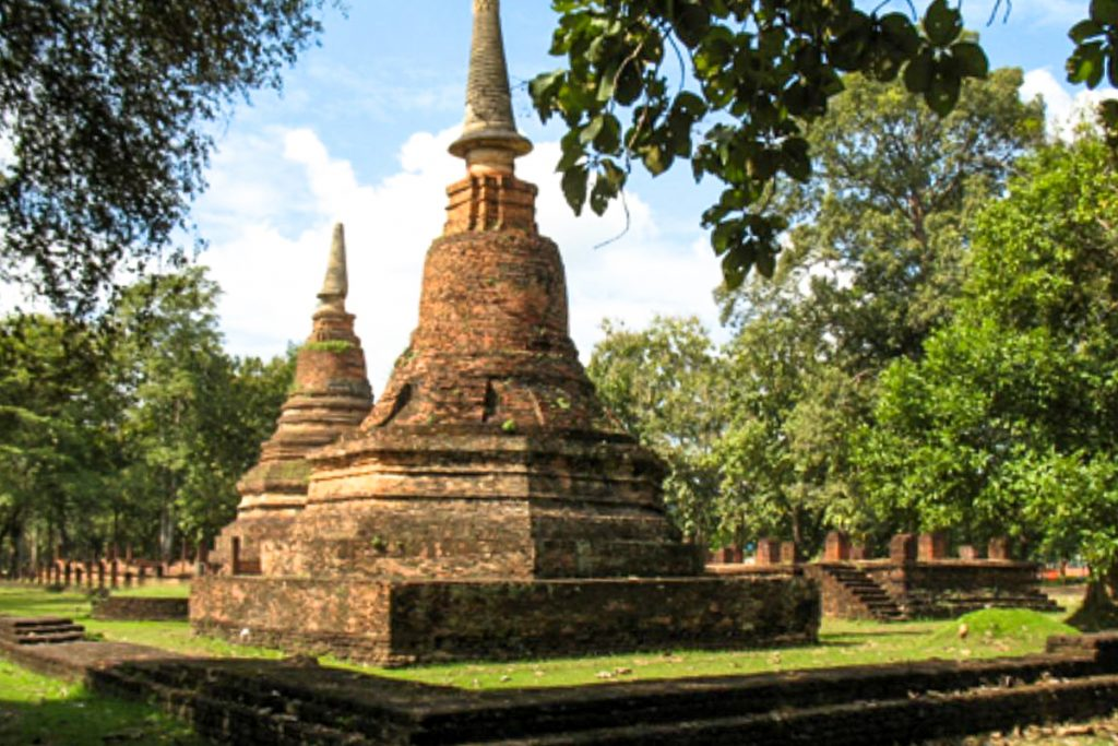 Kamphaeng Phet istorinis parkas
