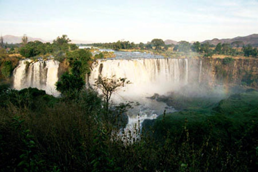 Mėlynasis Nilo krioklys
