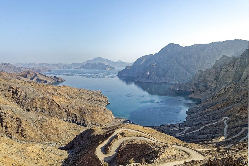Musandam fjordai