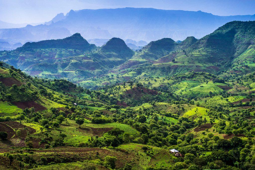 simieno kalnai etiopija