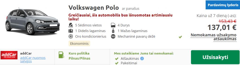 suomija auto nuoma