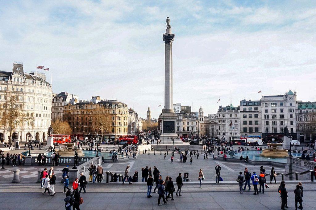 trafalgaro aikste londonas