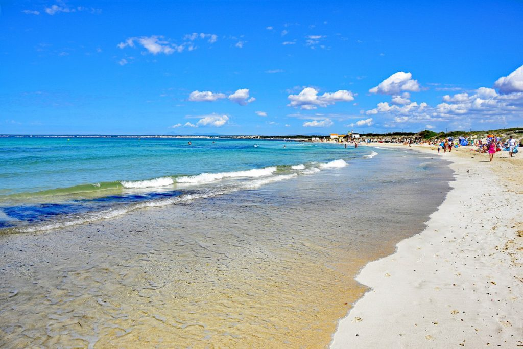 Es Trenc paplūdimys