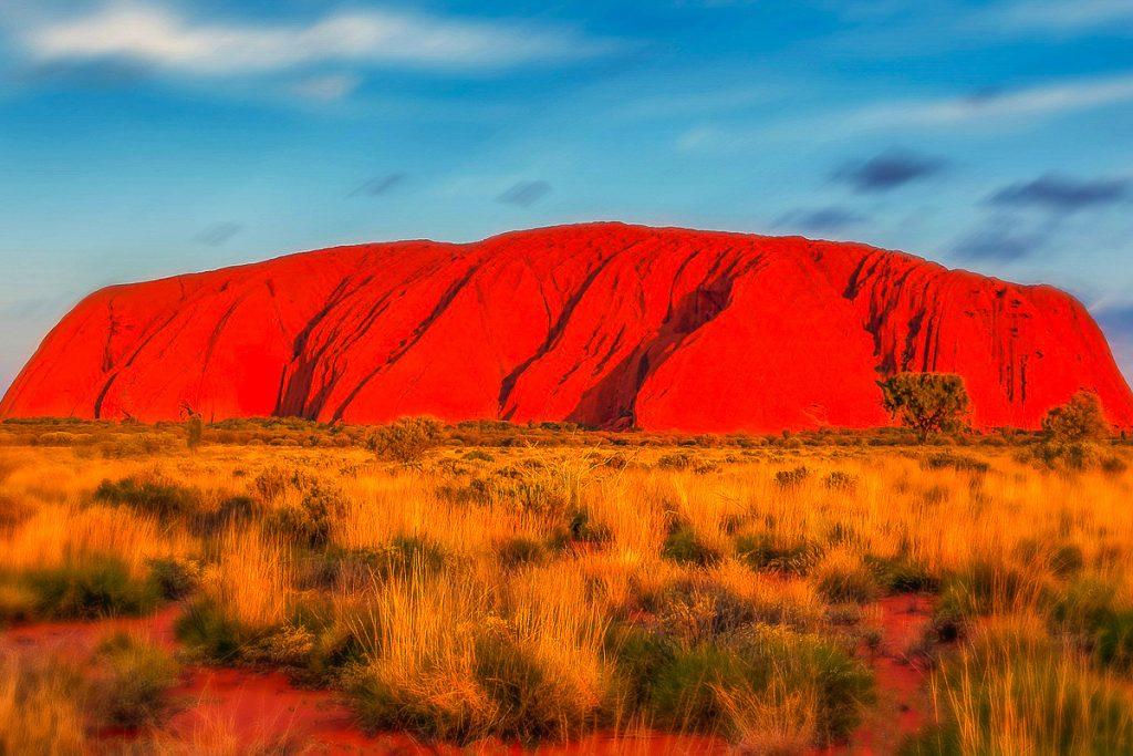 Uluru kalnagūbris