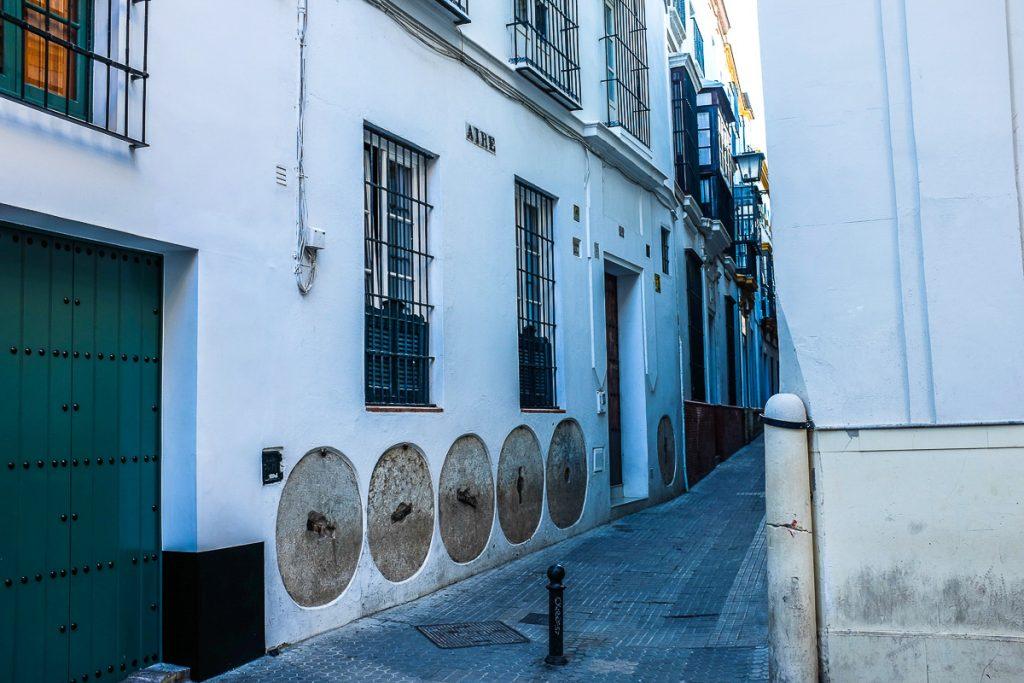 Barrio Santa Cruz kvartalas