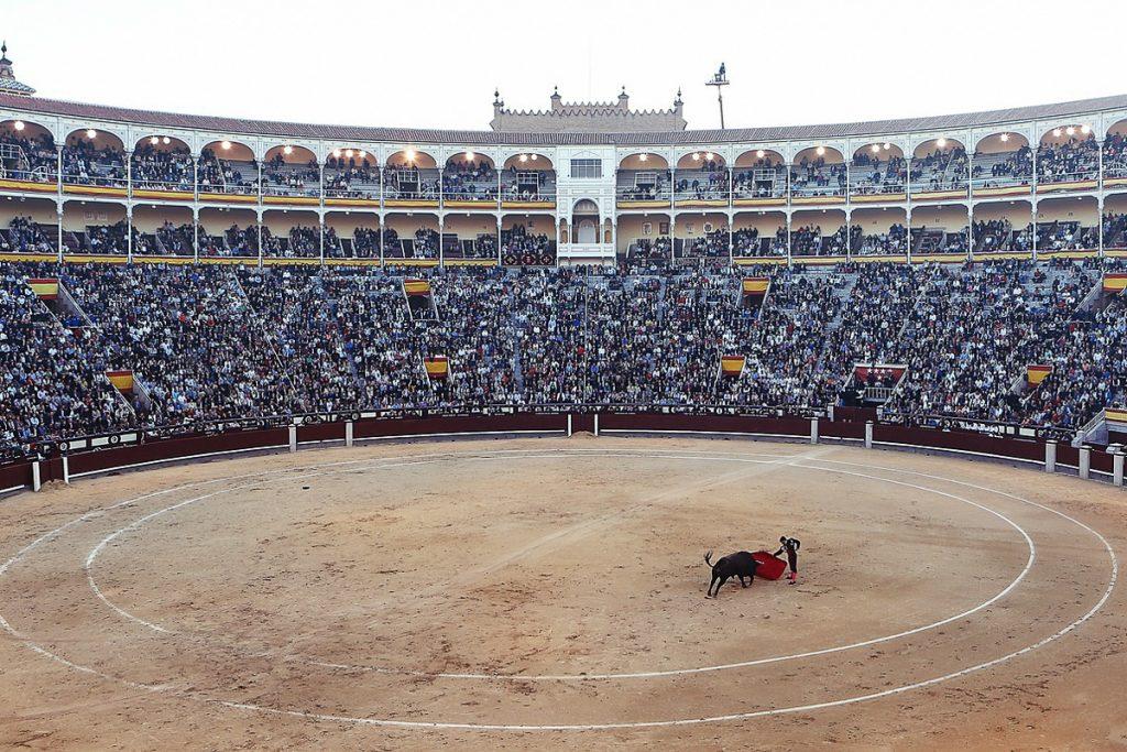 Las Ventas bulių kautynių arena