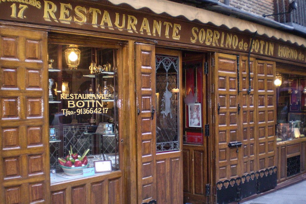 Sobrino de Botin restoranas