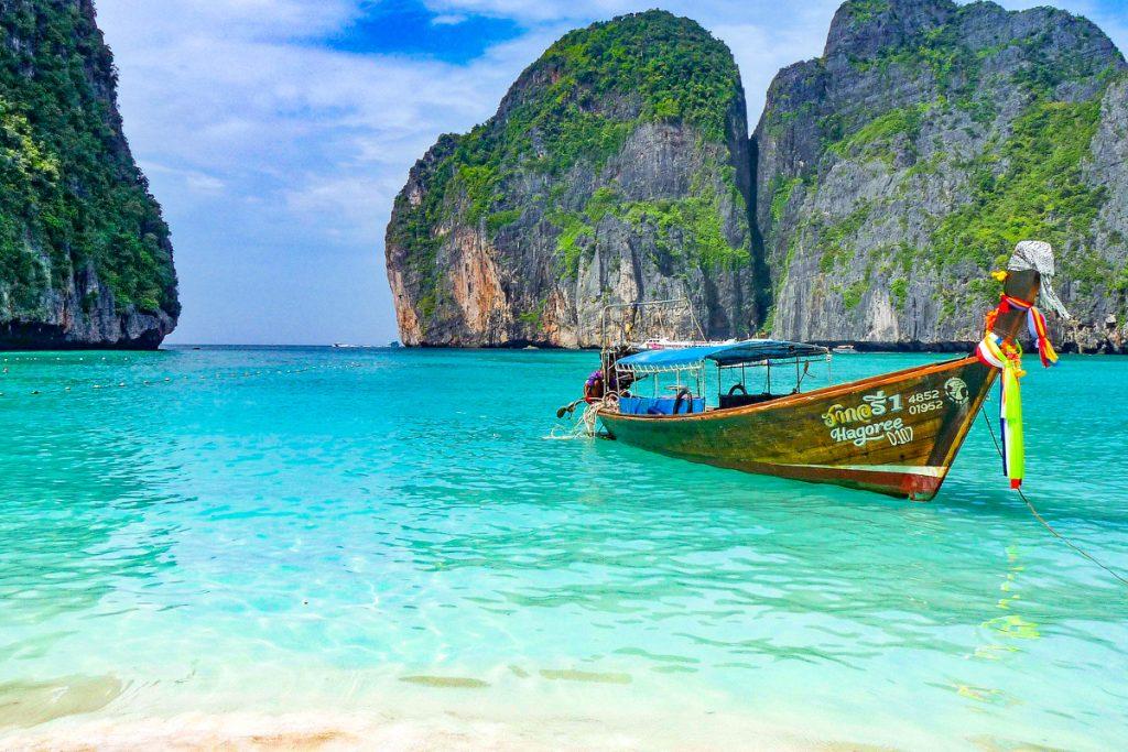 Phi Phi salos iš Krabi