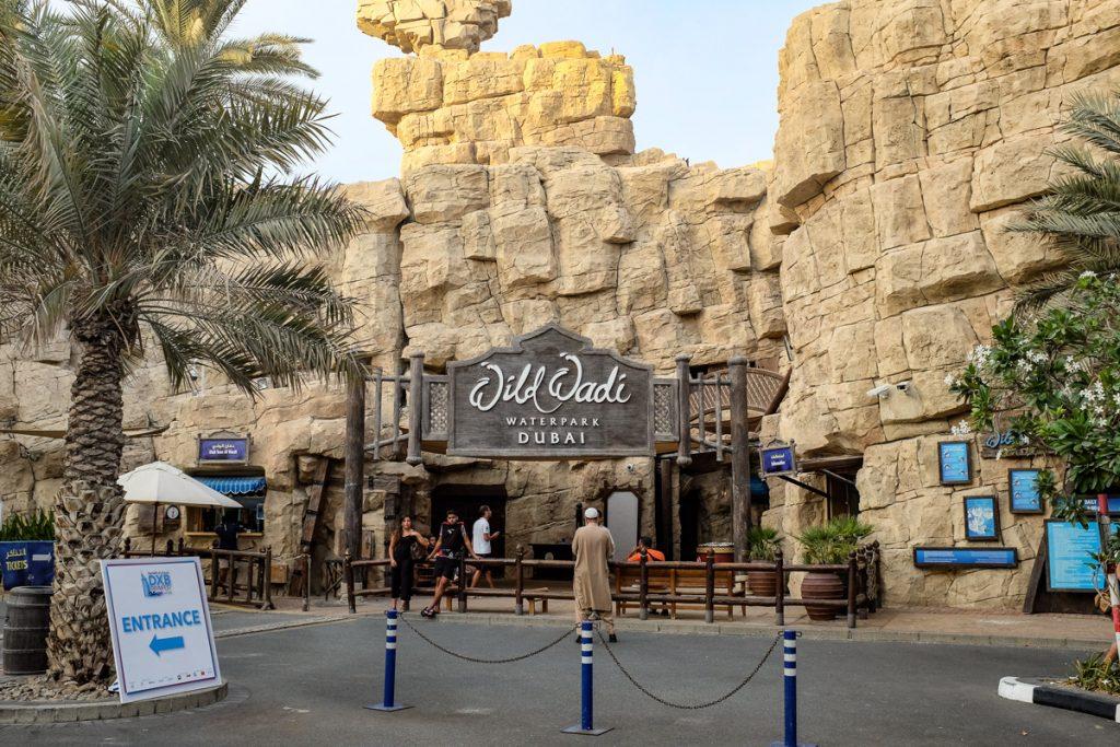 Wild Wadi vandens parkas