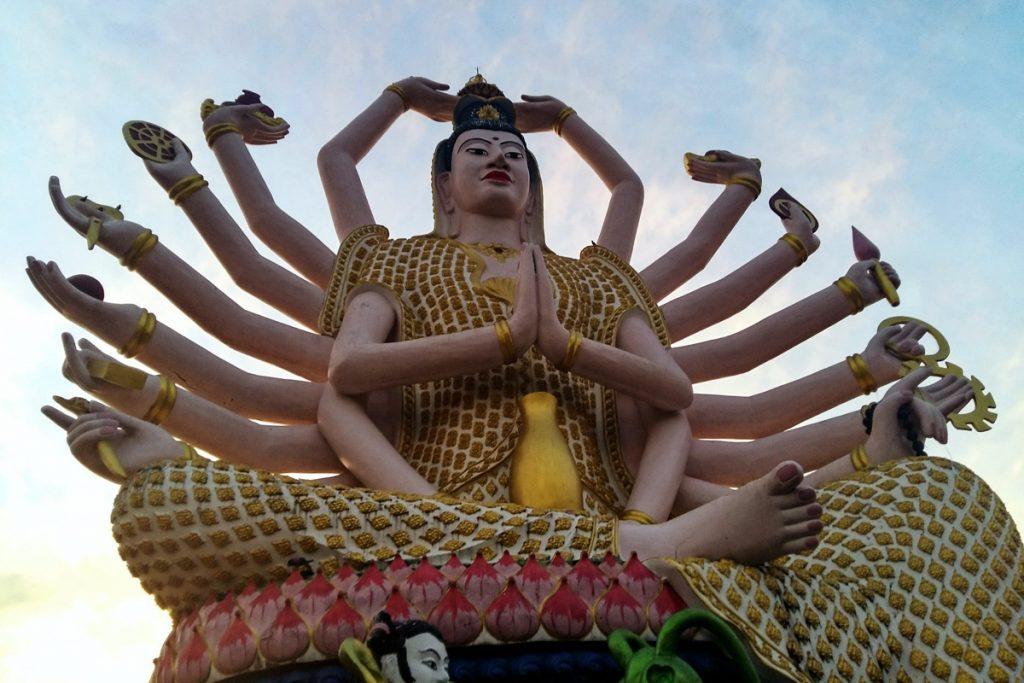 Wat Plai Laem šventykla