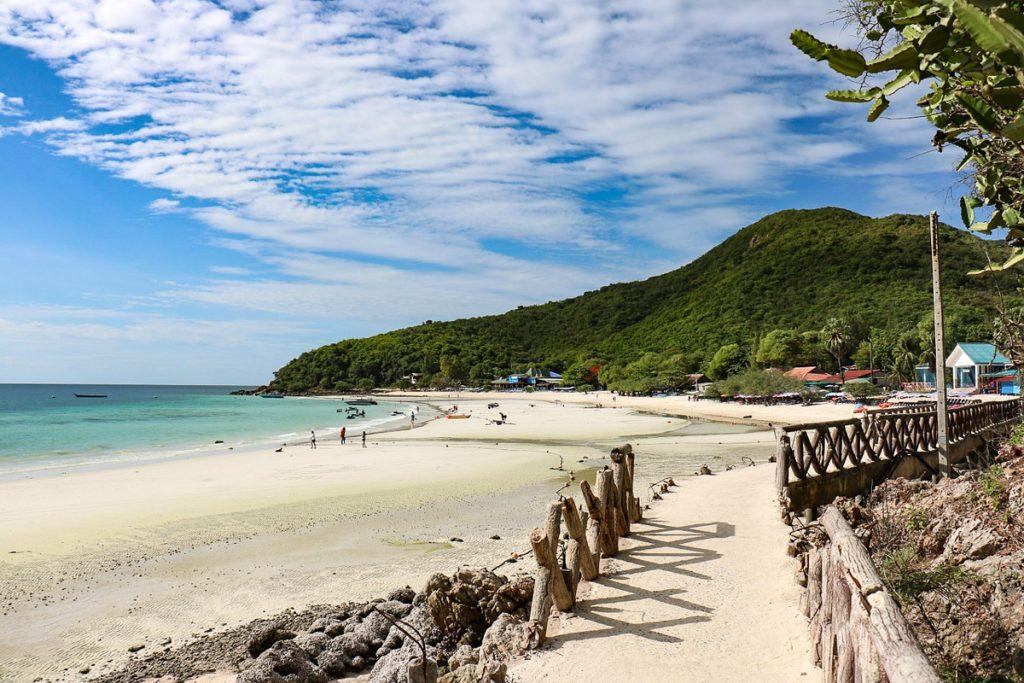 Gražiausi Patajos paplūdimiai