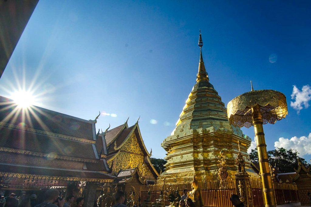 Wat Phra That Doi Suthep šventykla