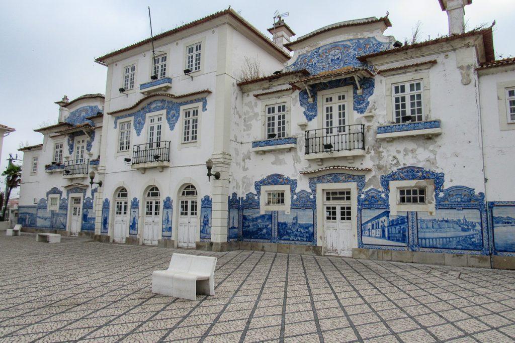Senoji Aveiro traukinių stotis