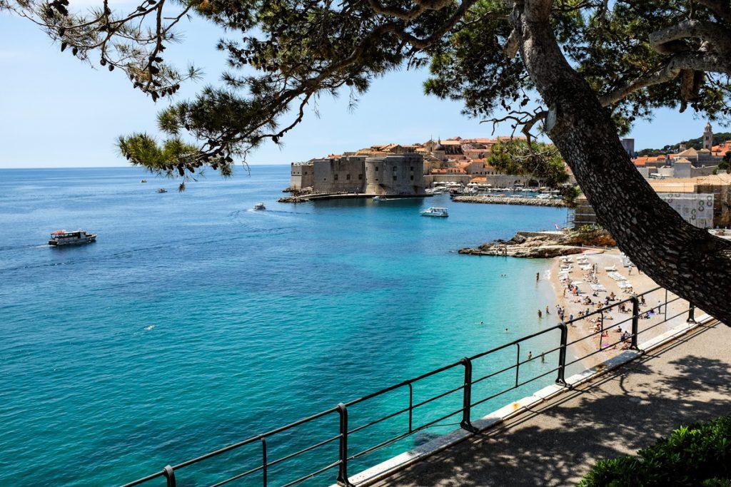 Dubrovniko paplūdimiai
