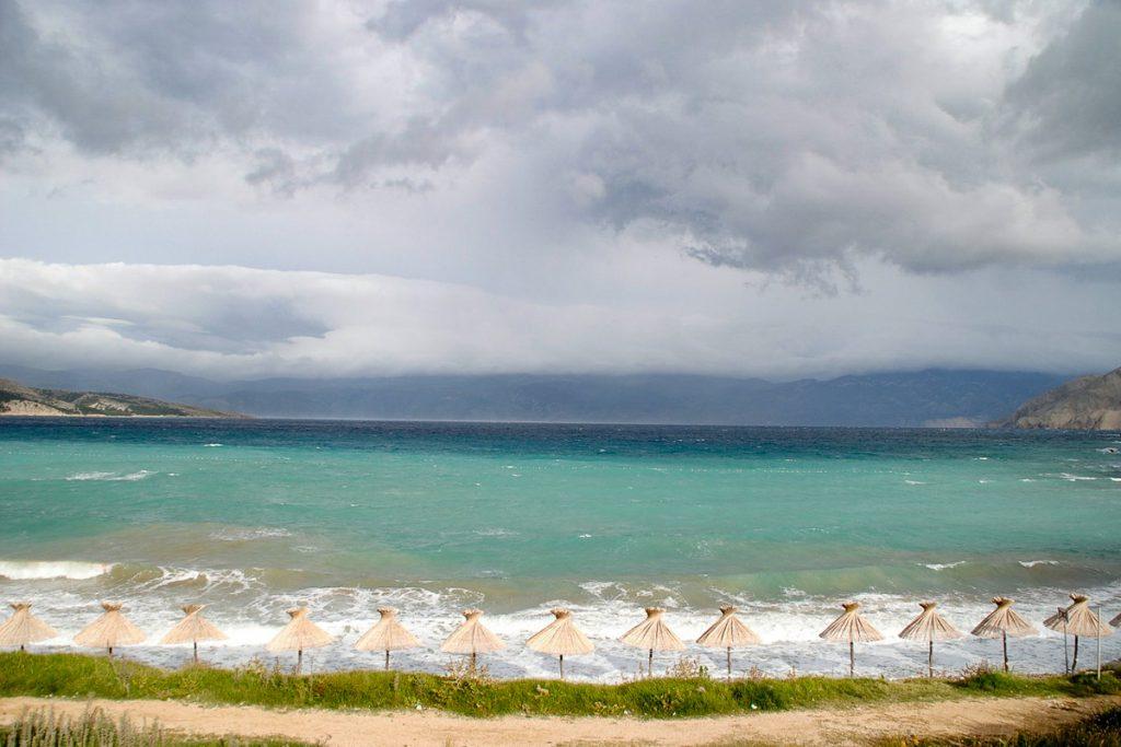 Krk salos paplūdimiai