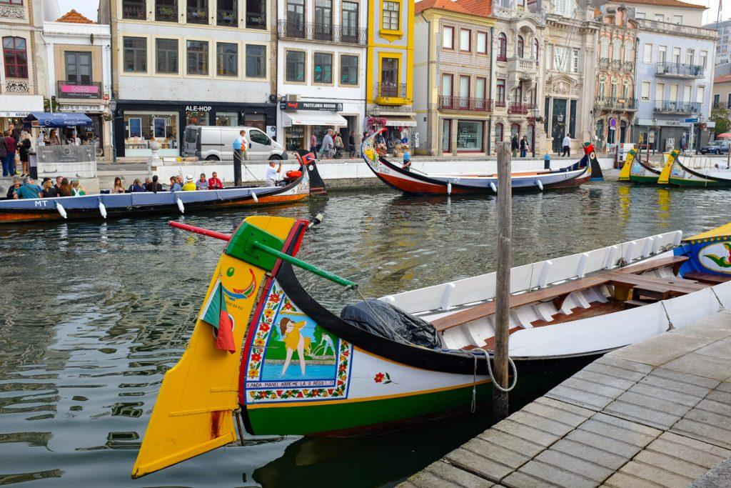 Ekskursija Aveiro kanalais