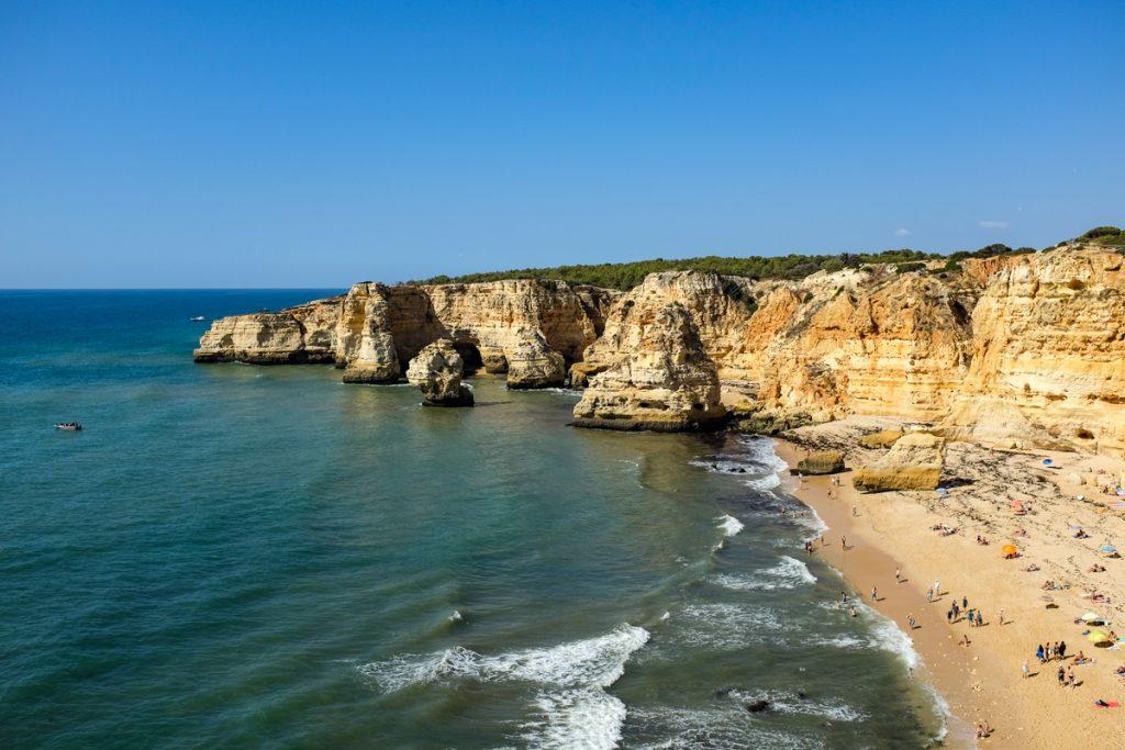 Praia da Marinha paplūdimys