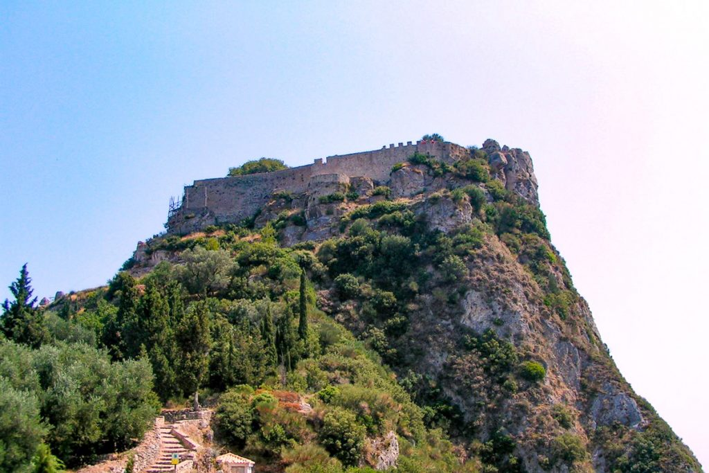 Angelokastro pilis
