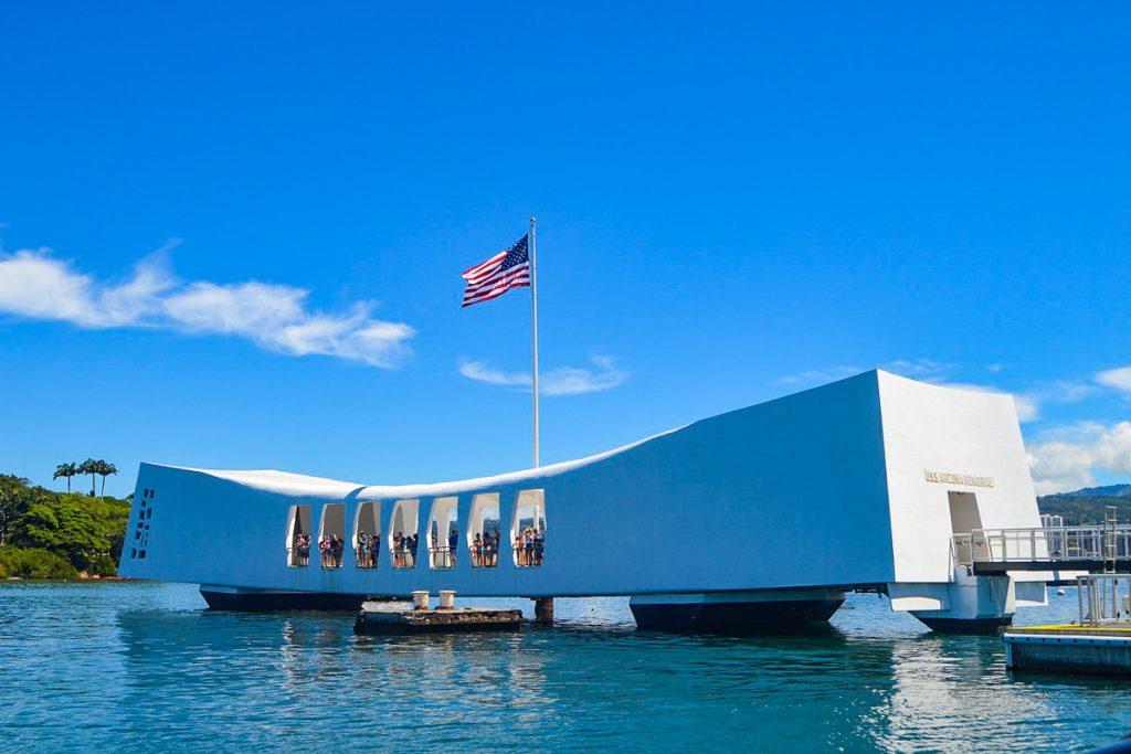 USS Arizonos memorialas