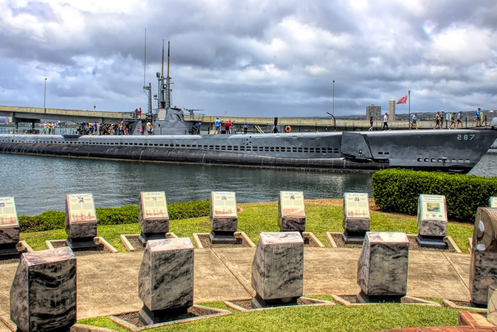 USS Bowfin povandeninis laivas