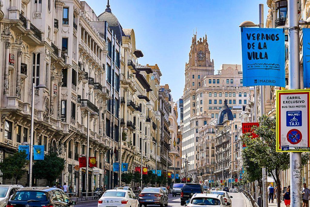 Gran Via gatvė