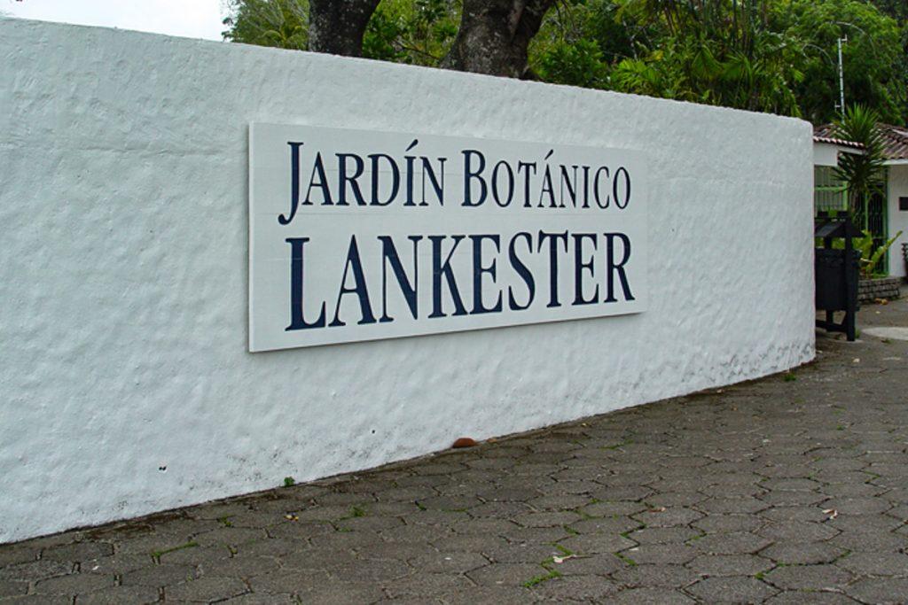 Lankesterio botanikos sodai