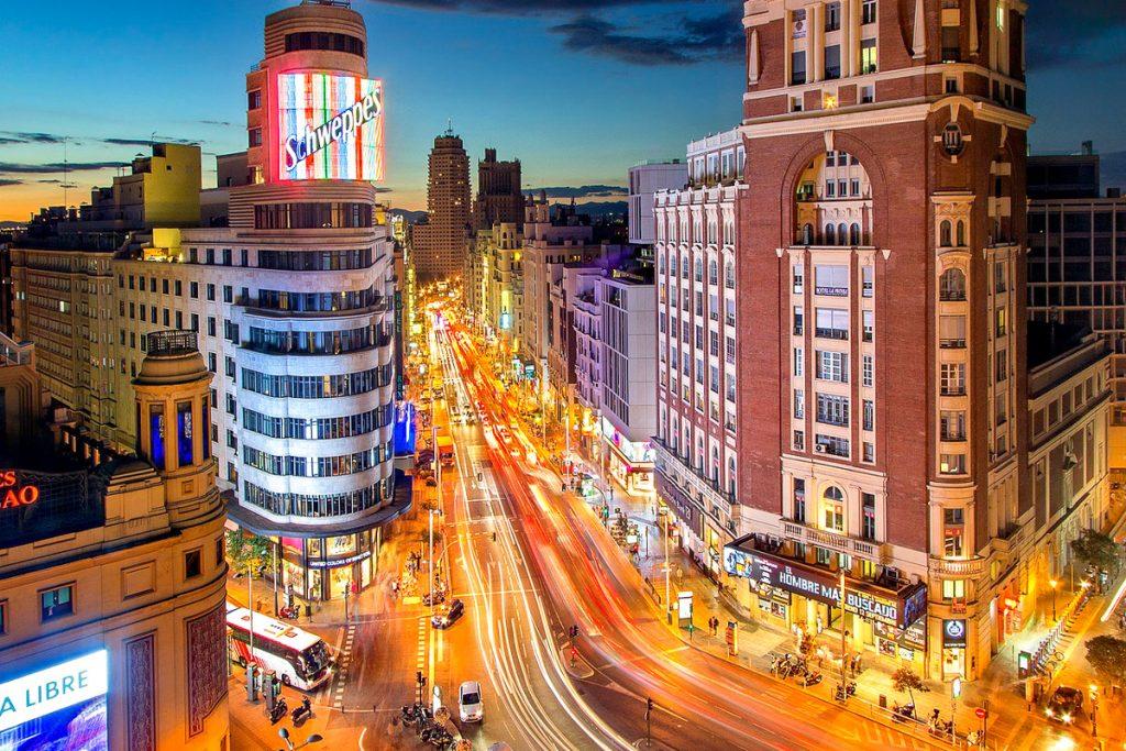 Madridas lankytinos vietos