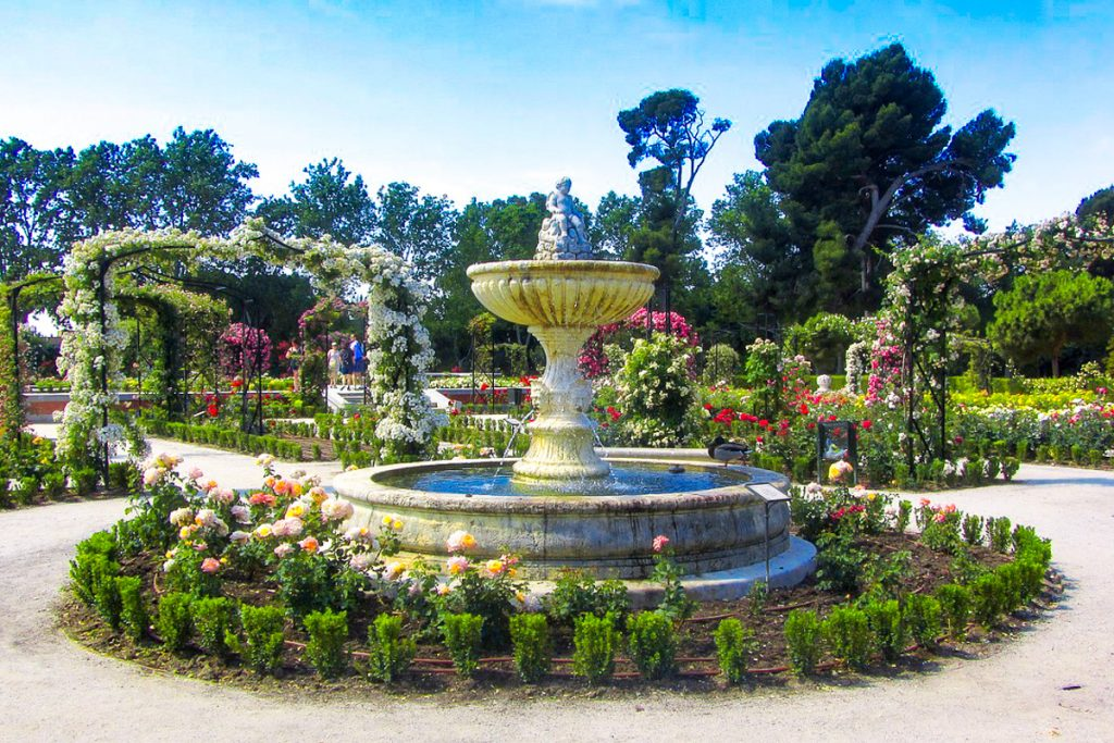 Madrido botanikos sodas