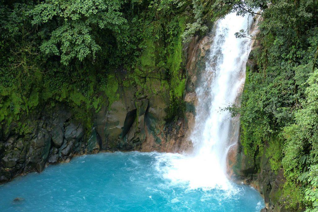 Rio Celeste krioklys, Gvanakastė