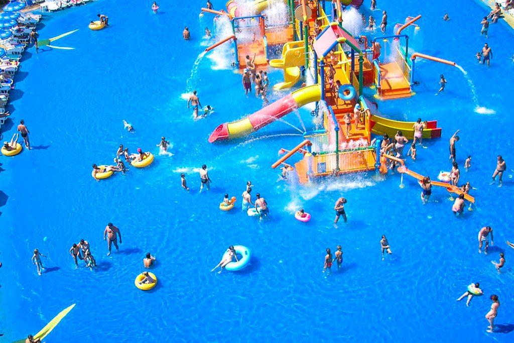 Korfu vandens parkas
