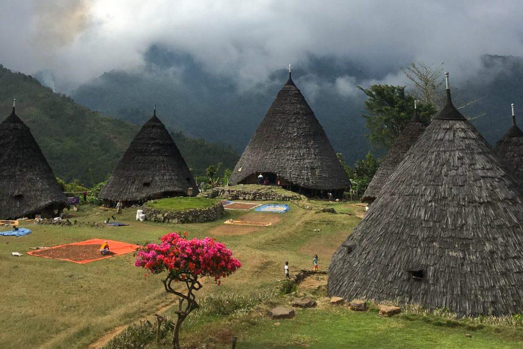 Wae Rebo kaimas