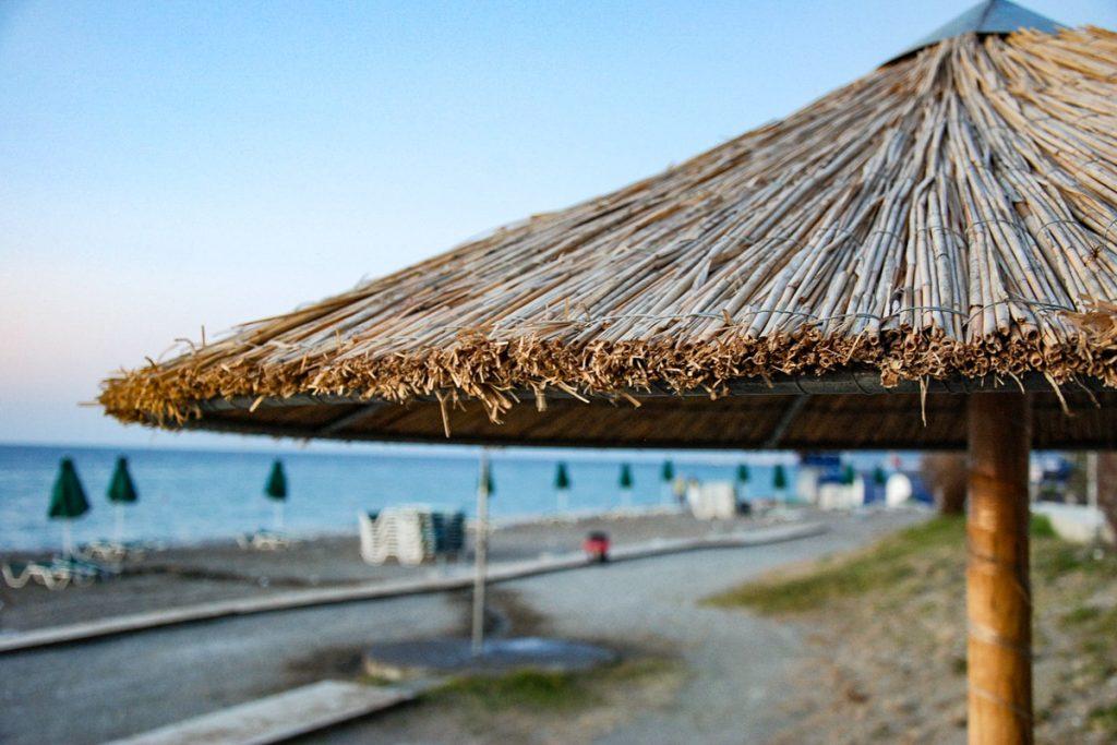 Faliraki paplūdimys