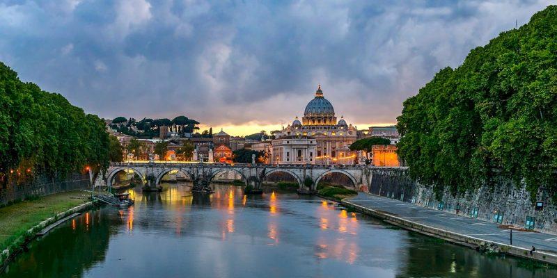 Pigūs skrydžiai iš Vilniaus į Romą