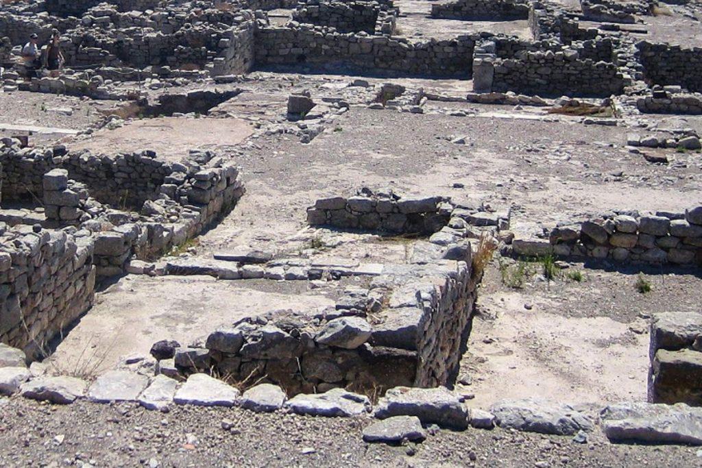 Antikinė Tera gyvenvietė