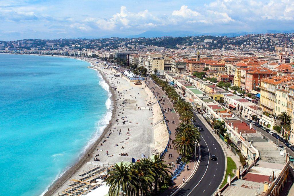 Anglų promenada Promenade des Anglais