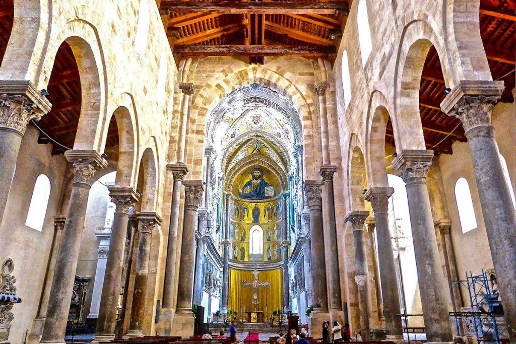 Čefalu katedra