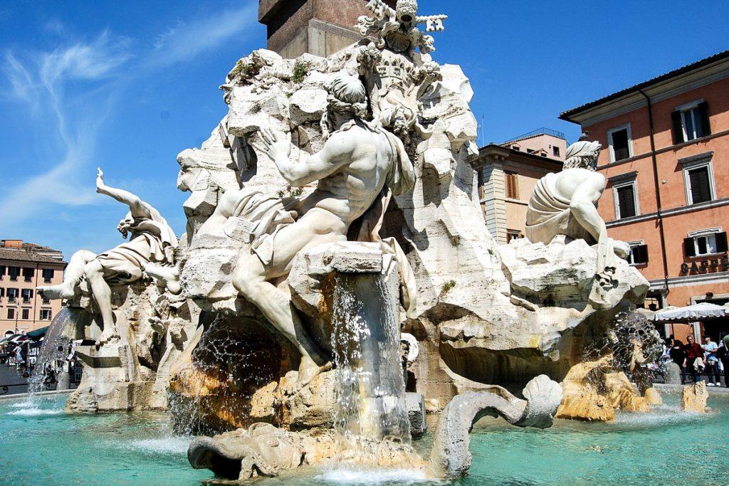 Keturių upių fontanas