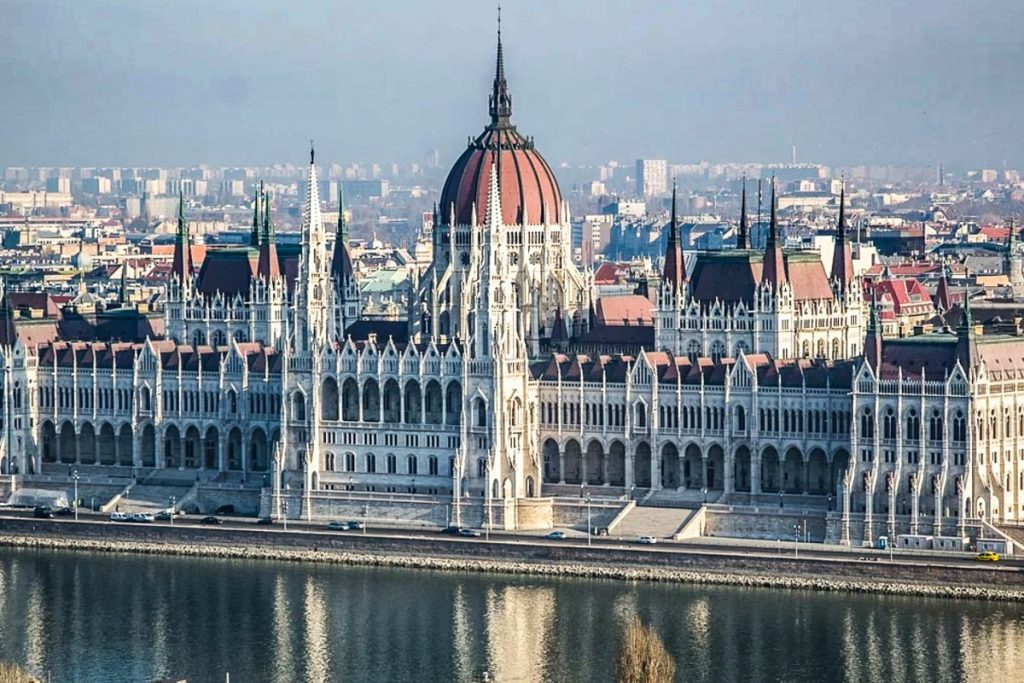 Vengrijos parlamento pastatas