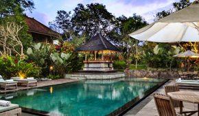 Viešbutis Ubudas baseinas