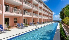 Barbadosas viešbutis baseinas