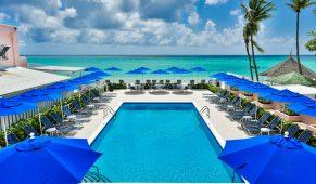 Barbadosas viešbutis jūra