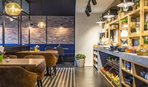 Briuselis viešbutis valgomasis