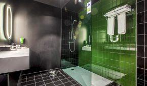 Briuselis viešbutis vonia