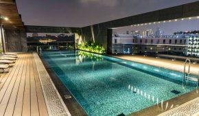 Viešbutis Singapūre baseinas