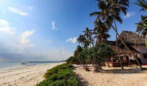 Zanzibaras viešbutis paplūdimys
