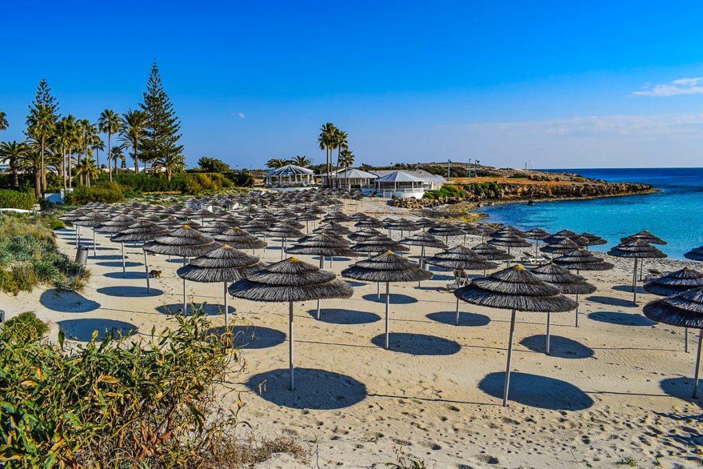 Agia Napos paplūdimiai